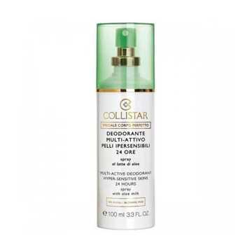 Collistar deodorante multi-attivo pelli ipersensibili 24 ore
