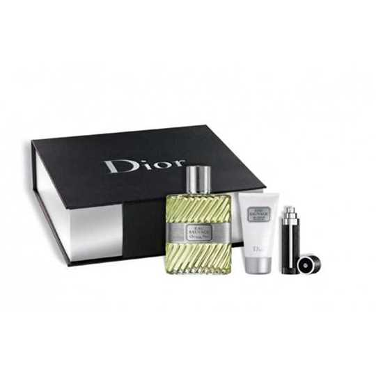 Dior Eau Sauvage Kit Profumo 100ML + Shower gel 50ml + EDT vapo 3ML