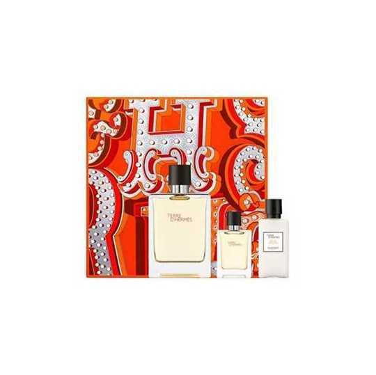 Terre D'Hermes Kit Eau de Toilette + Miniatura + Dopobarba