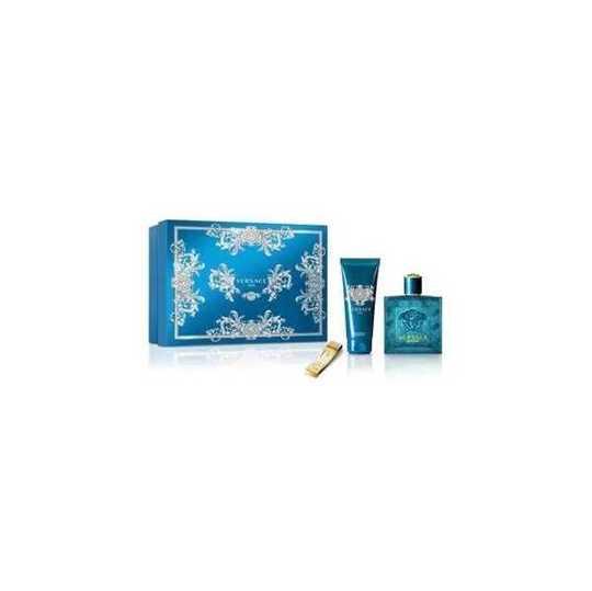 Versace Eros Kit Eau de Toilette + Shower Gel + Money Clip
