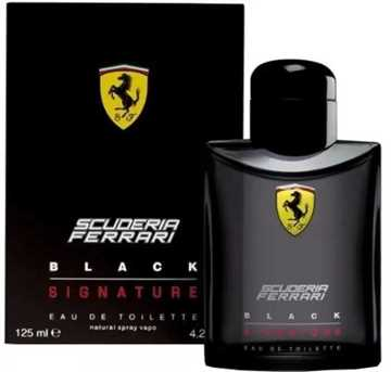 Ferrari Black Signature Eau De Toilette 125ML