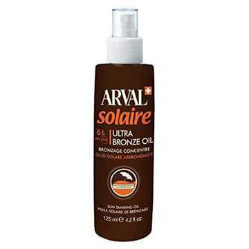 ARVAL Olio Solare Abbronzante SPF6 125ML